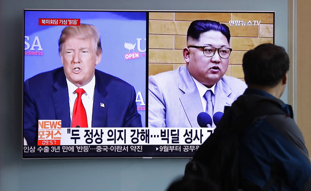 Trump welcomes North Korea plan to blow up nuke test site tunnels