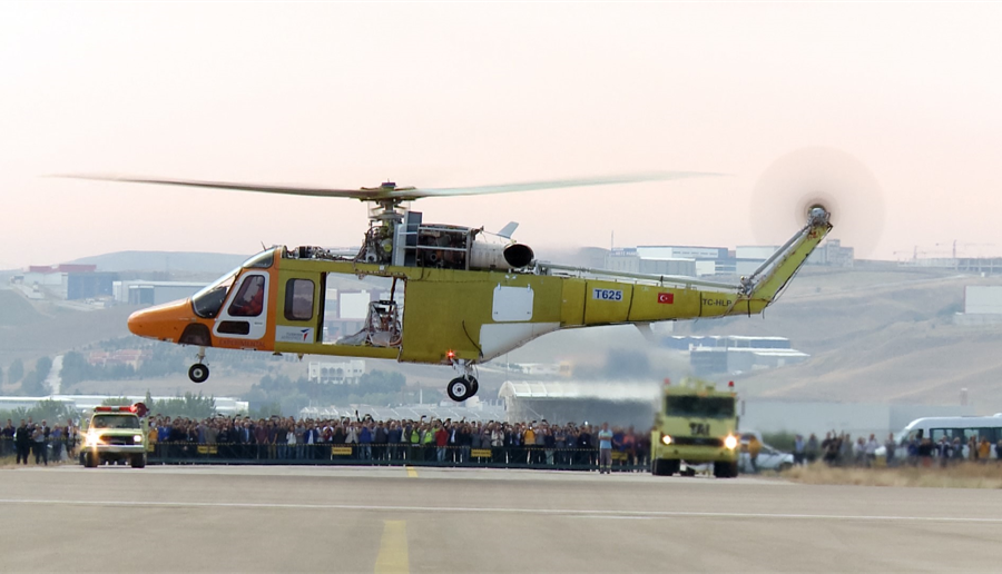 Turkey's first indigenous helicopter, the T625, could be an option for Pakistan. (TAI)