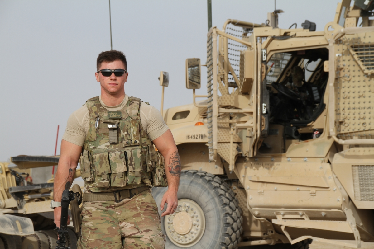 Thumbnail for Transgender airman: 'I would like to see them try to kick me out of my military'