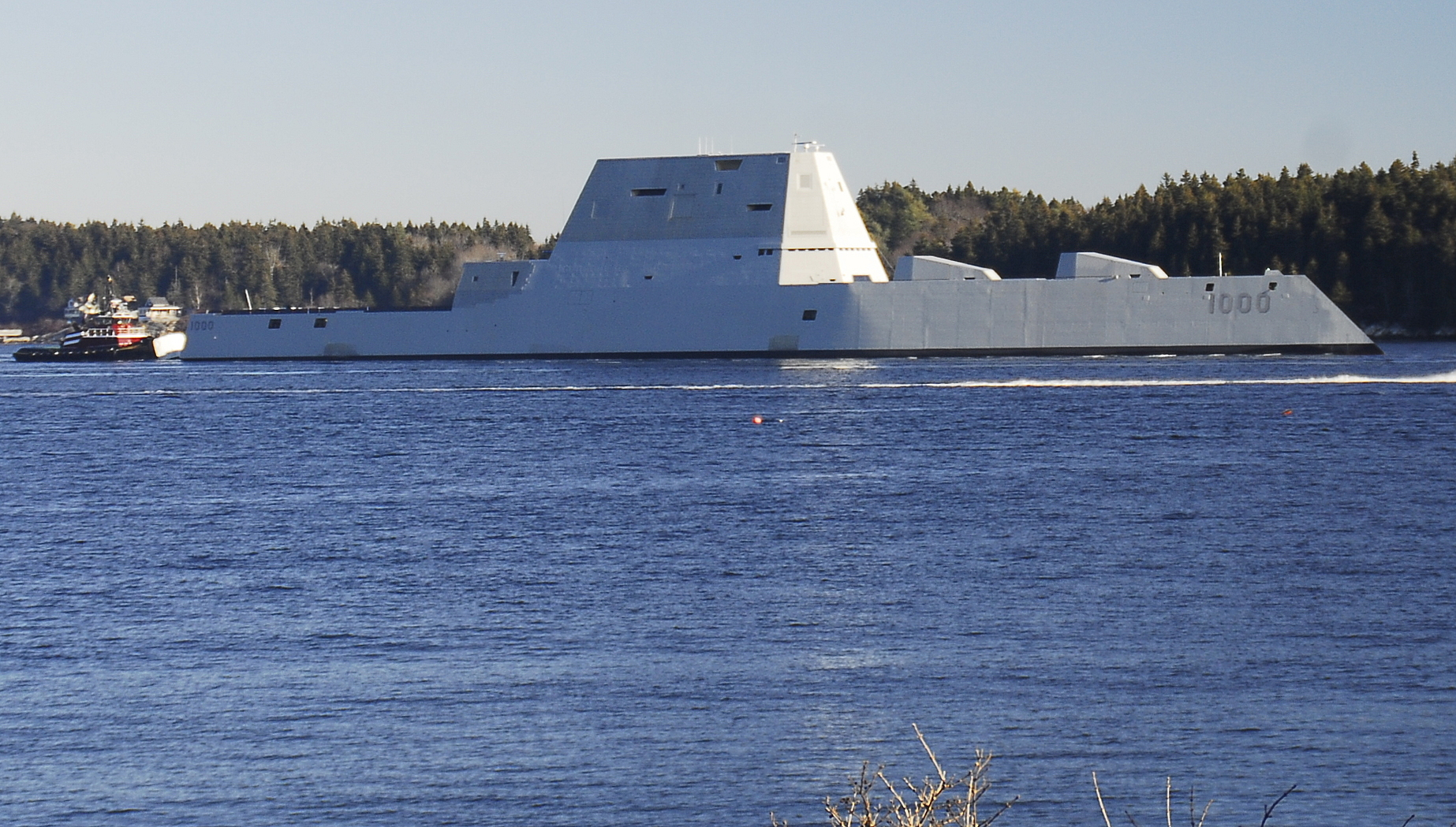 Navy has no plan to introduce new ammo for Zumwalt destroyers