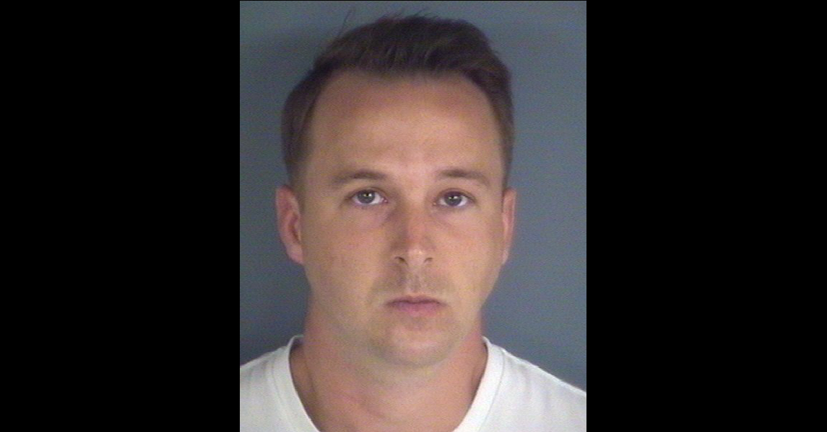 Lt. j.g. Michael D. McNeil is serving a 10-year prison term for attempted online enticement of a minor. Yet the Navy still tapped him to run a department. (Photo courtesy Clay County Sheriff's Office)