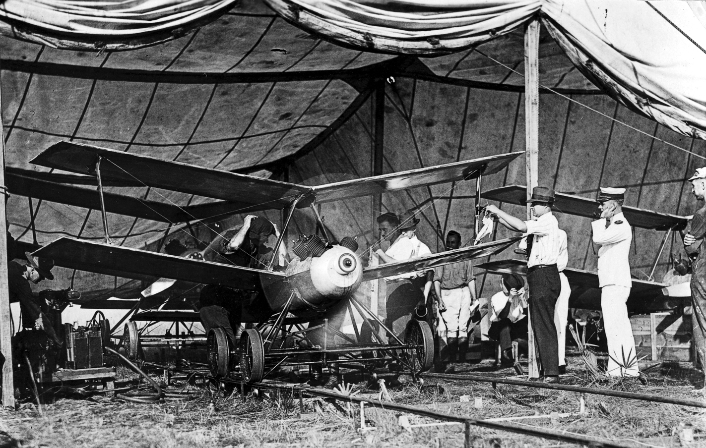 Launched on rails, the Kettering Bug was an aerial torpedo that anticipated both drones and cruise missiles. (Army)