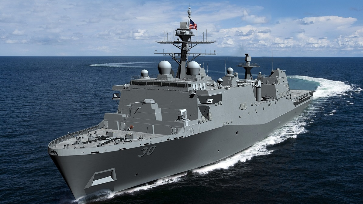 Congress is worried about attracting and keeping shipyards in business and skilled workers in the shipyards to support a growing fleet. (Huntington Ingalls Industries)