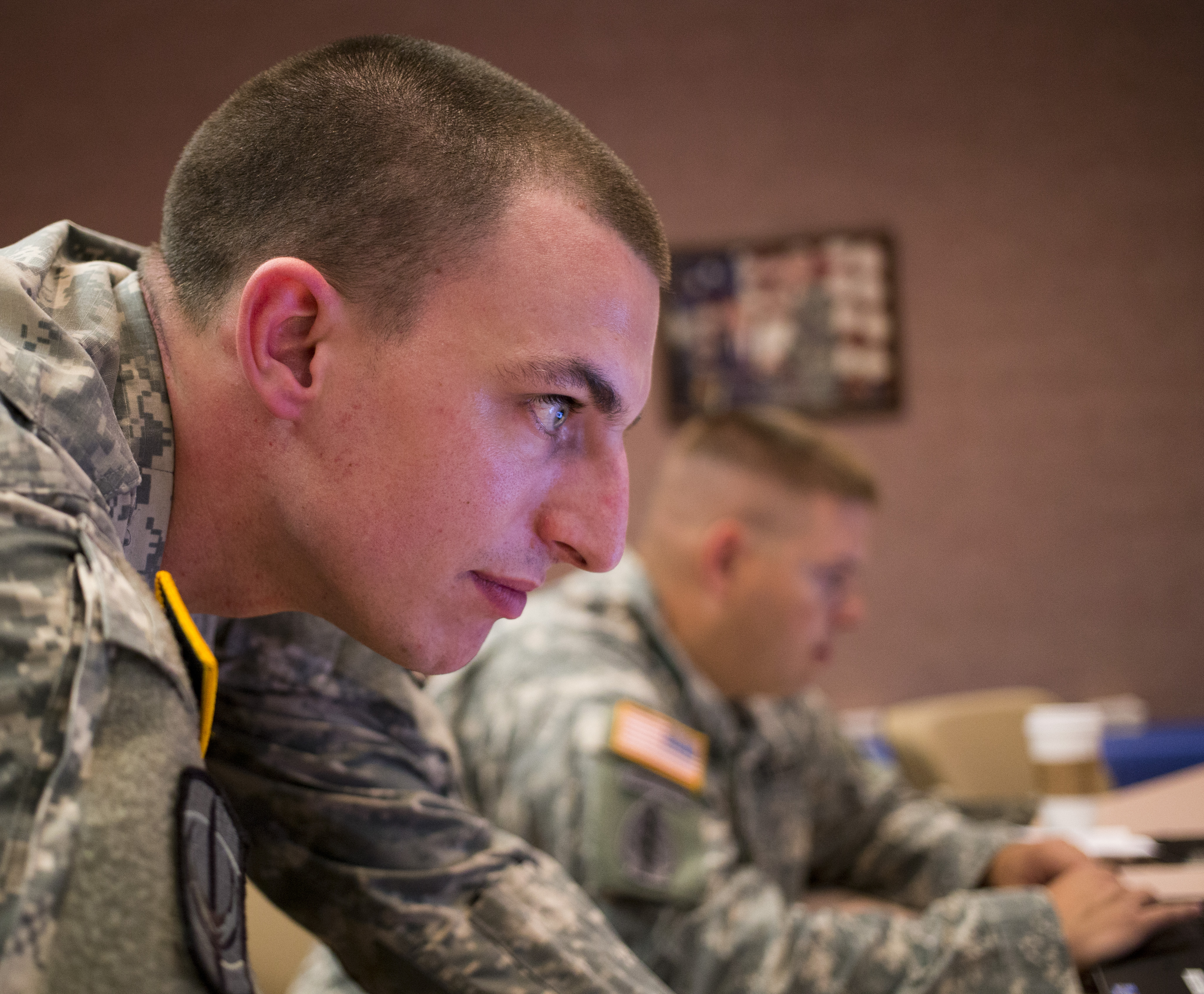 The Army's Cyber School is working to develop curricula to incorporate information operations. (Staff Sgt. Tracy J. Smith/Georgia Army National Guard)
