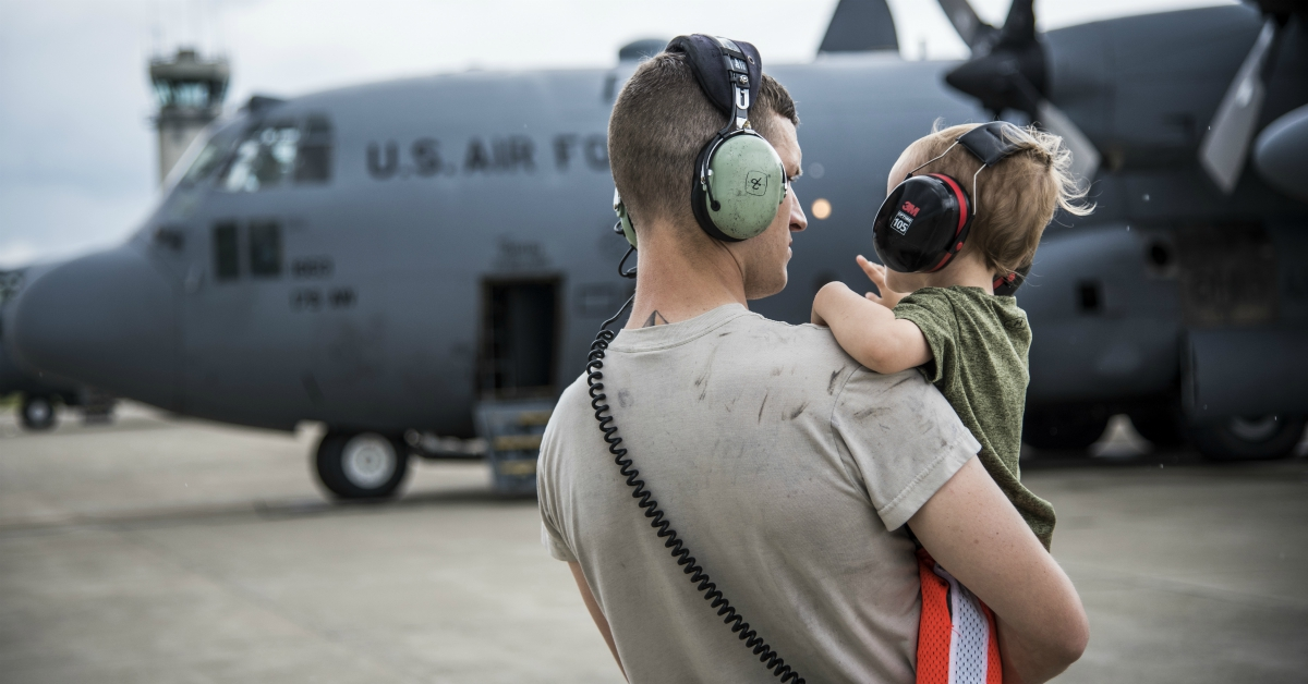 Do you support the Pentagon's new restrictions on transferring GI Bill benefits to dependents? (U.S. Air National Guard photo by Capt. Paul Stennett/Released)