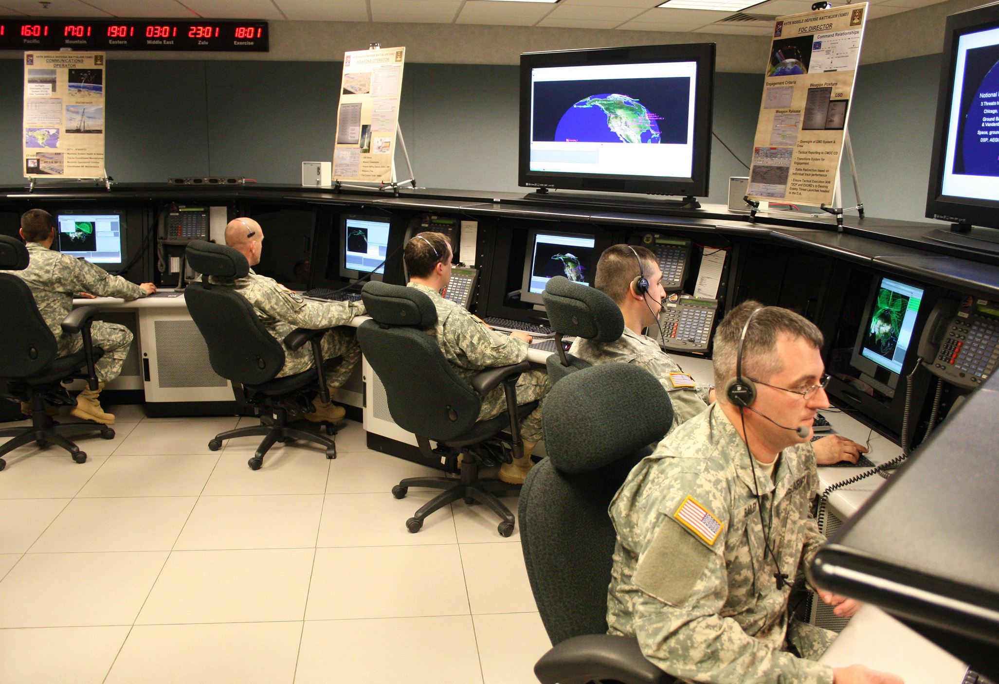 MDA to Announce Preferred East Coast Missile Defense Site By Year's End
