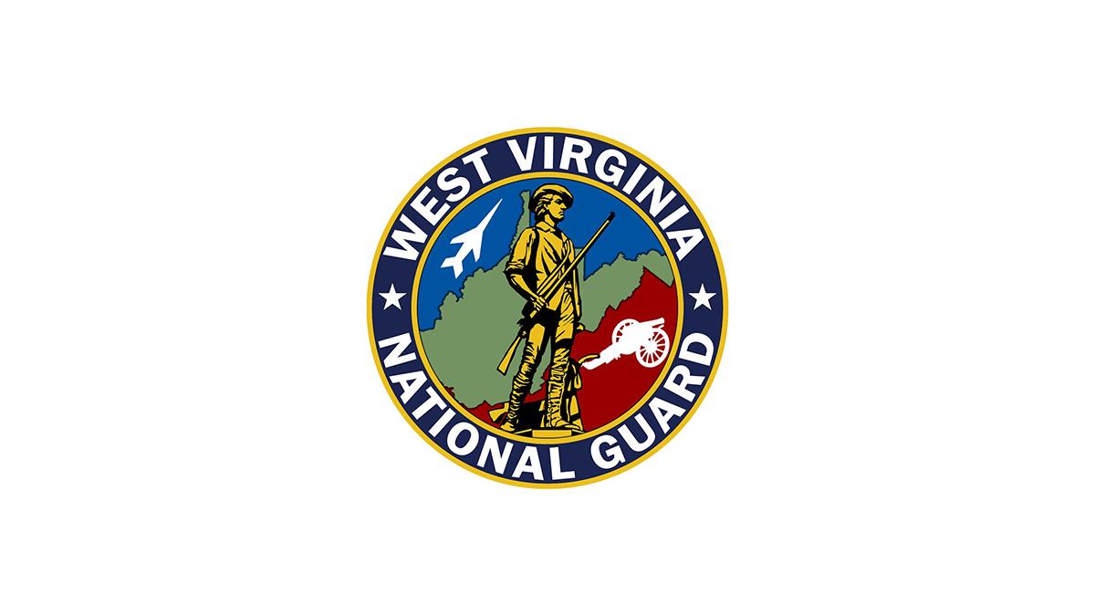 West Virginia National Guard emblem.