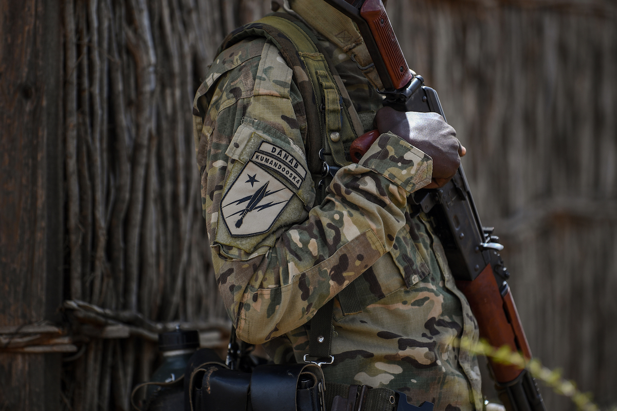 Building Somalia's Danab light infantry brigade is the primary effort of U.S. military trainers in the country. (AFRICOM)