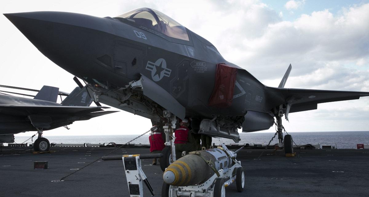 Marines set more milestones with F-35B
