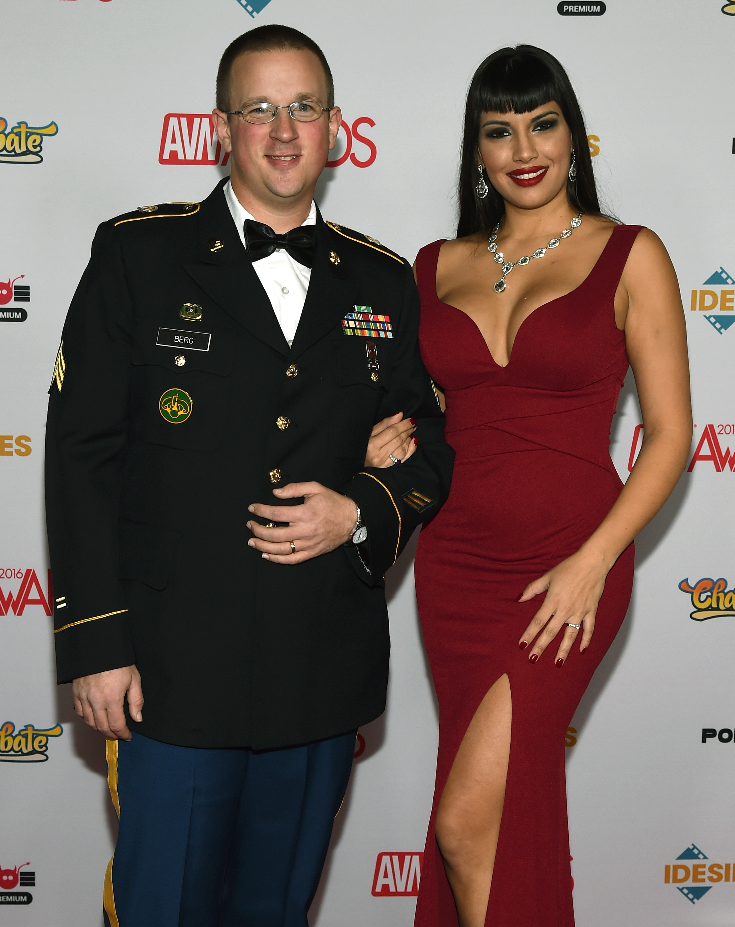 With wives men military