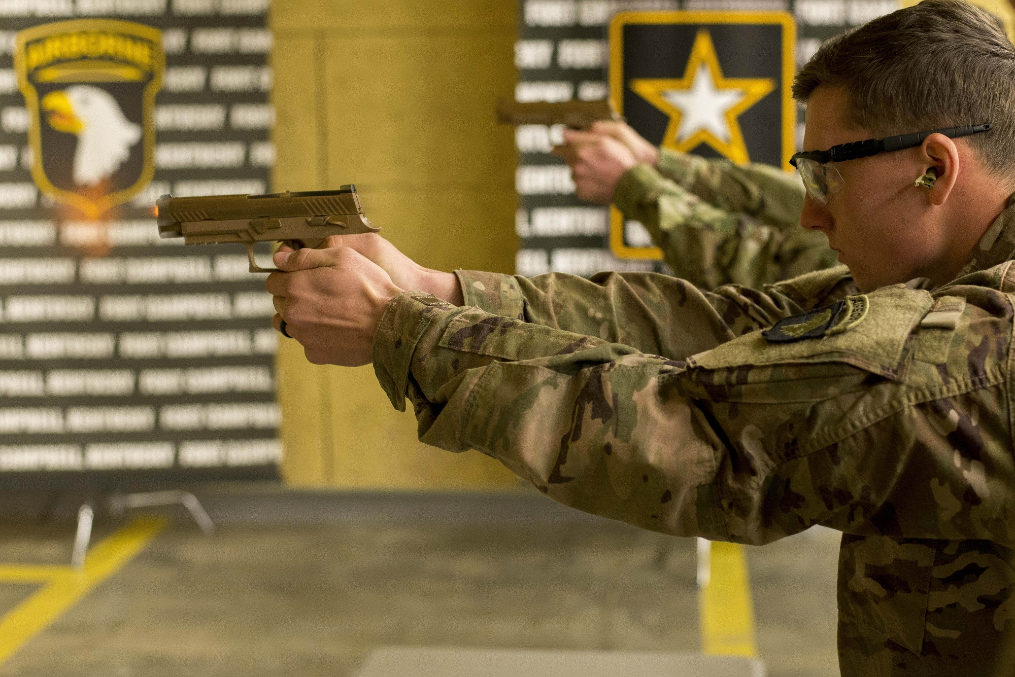 In a first, the Army's new handgun will be issued to team leaders