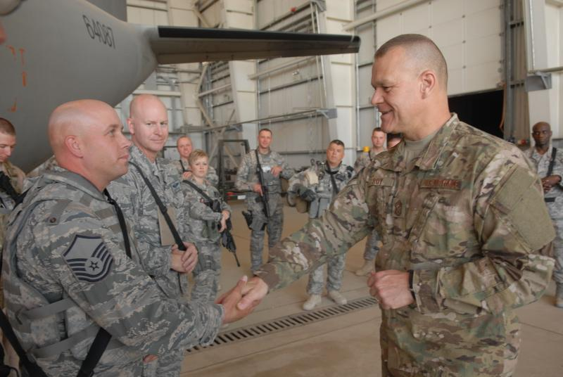 Deployed Airmen To Wear New Army Camo Pattern