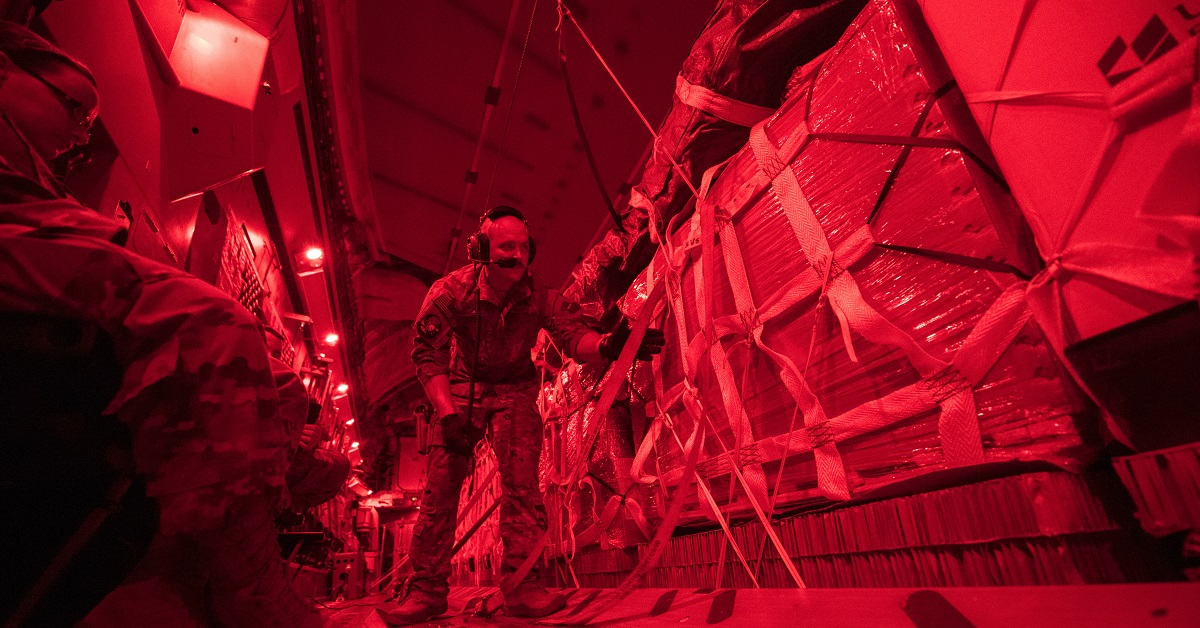 Air Force C-17s resume airdrops in Afghanistan after more than a year