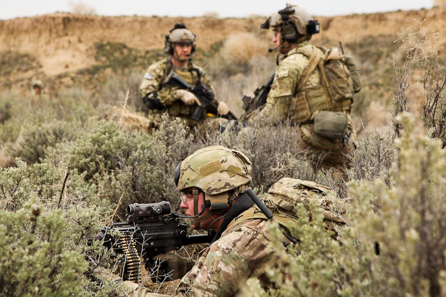Army Rangers on the ground in Syria for liberation fight  Army Rangers on...