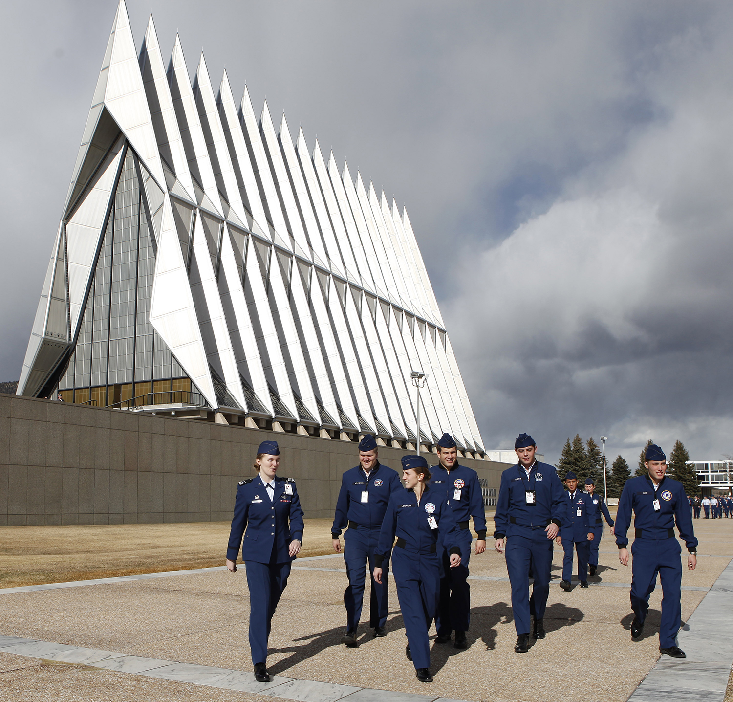 113dccde1a2 Landmark Air Force Academy Chapel closing for restoration