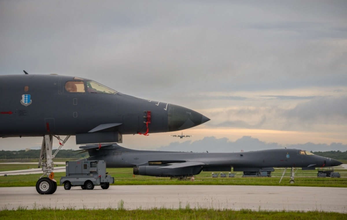 B-1Bs fly with allies over Sea of Japan; Lancers and Raptors in Europe