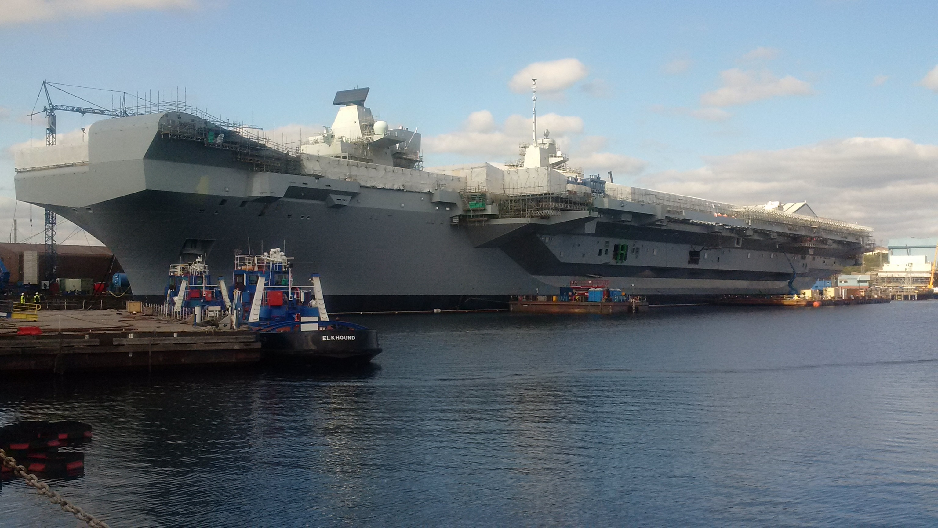 British Naval Commander Wants US Marine Aviation on Aircraft Carrier