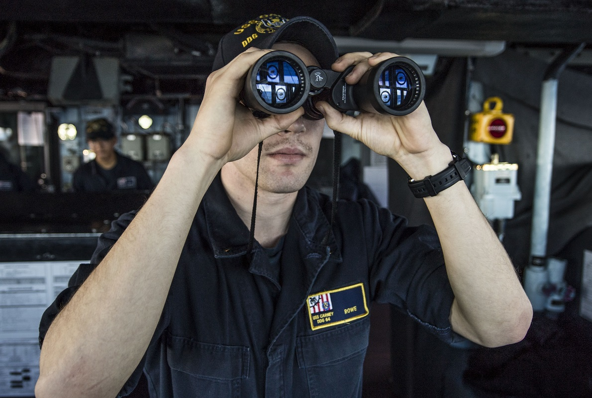 A three-month internal review conducted by senior U.S. surface fleet leaders found some or significant concerns with the ship-handling skills of nearly 85 percent of its junior officers, and that many struggled to react decisively to extricate their ship from danger when there was an immediate risk of collision, according to an internal message obtained by Defense News. (MC2 James Turner/U.S. Navy)