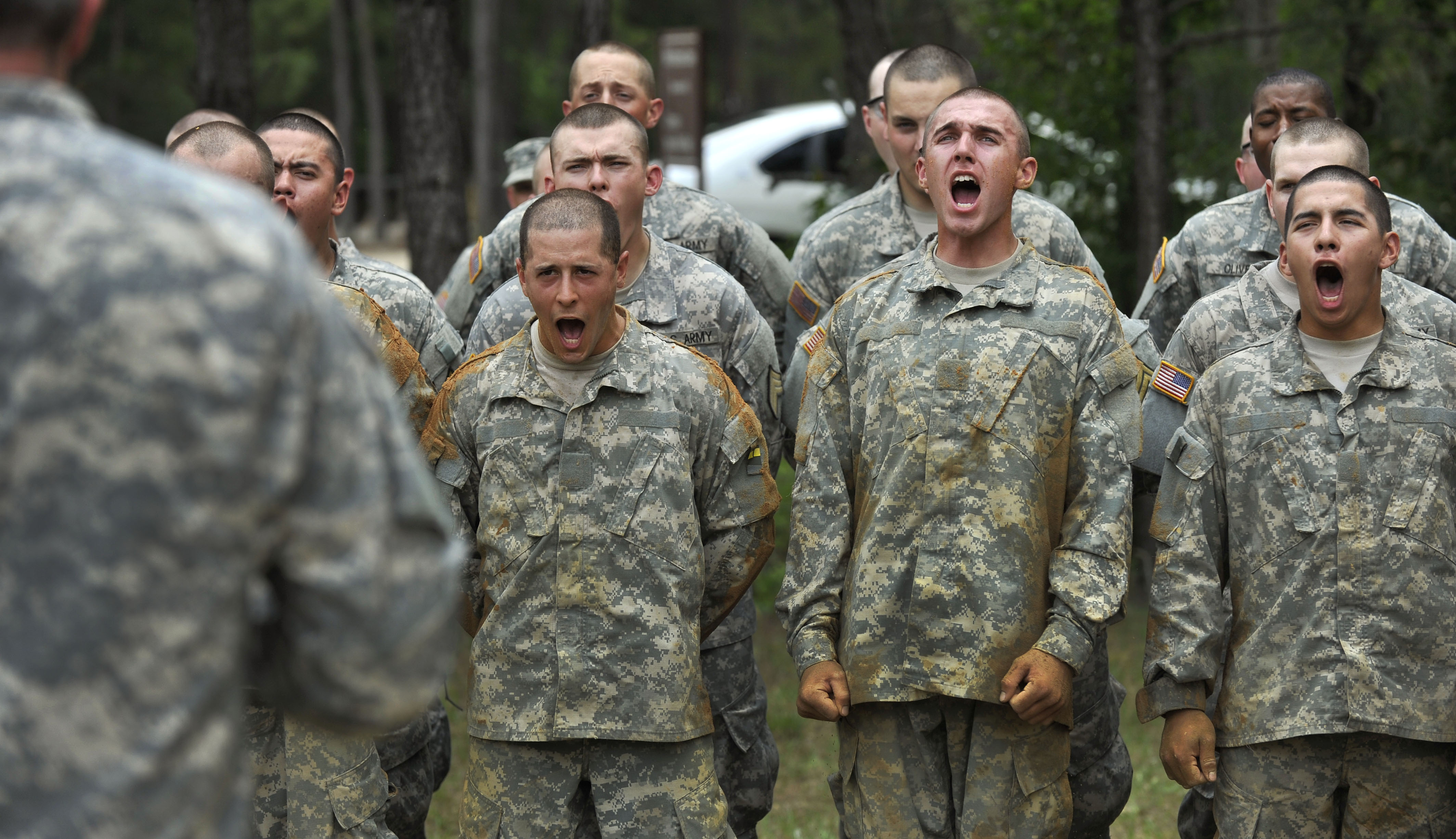 stress in military recruiting
