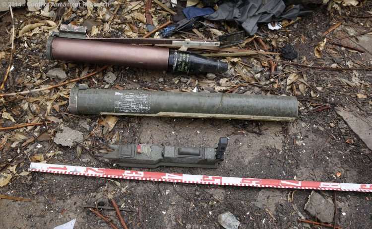 Turkish variants of the U.S. M72 LAW anti-tank rocket keep ending up in ISIS stockpiles