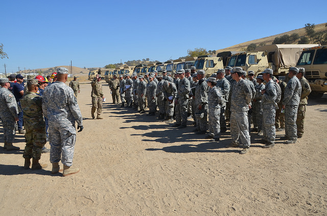 California Guard: Bonus repayment issues will be fixed by mid-summer