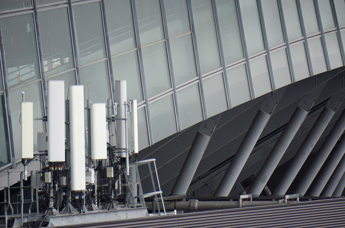 Cellular site equipment in London, Tuesday, June 25, 2019. According to Boston-based Cybereason, a group of state-backed hackers has been burrowing into all kinds of telecommunications companies in order to spy on high-profile targets across the world, the U.S. cybersecurity firm said in a report published Tuesday June 25, 2019.(Raphael Satter/AP)
