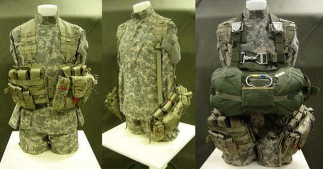 The Airborne Tactical Assault Panel is shown with various rigging configurations.