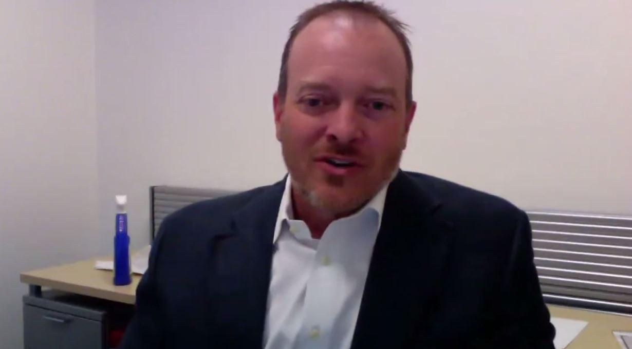 Chris Townsend, vice president of federal, Symantec. (Aaron Boyd/Staff)