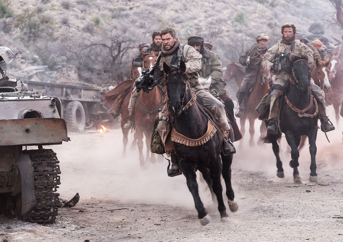 'Horse Soldiers' go Hollywood: Behind the scenes with '12 Strong'