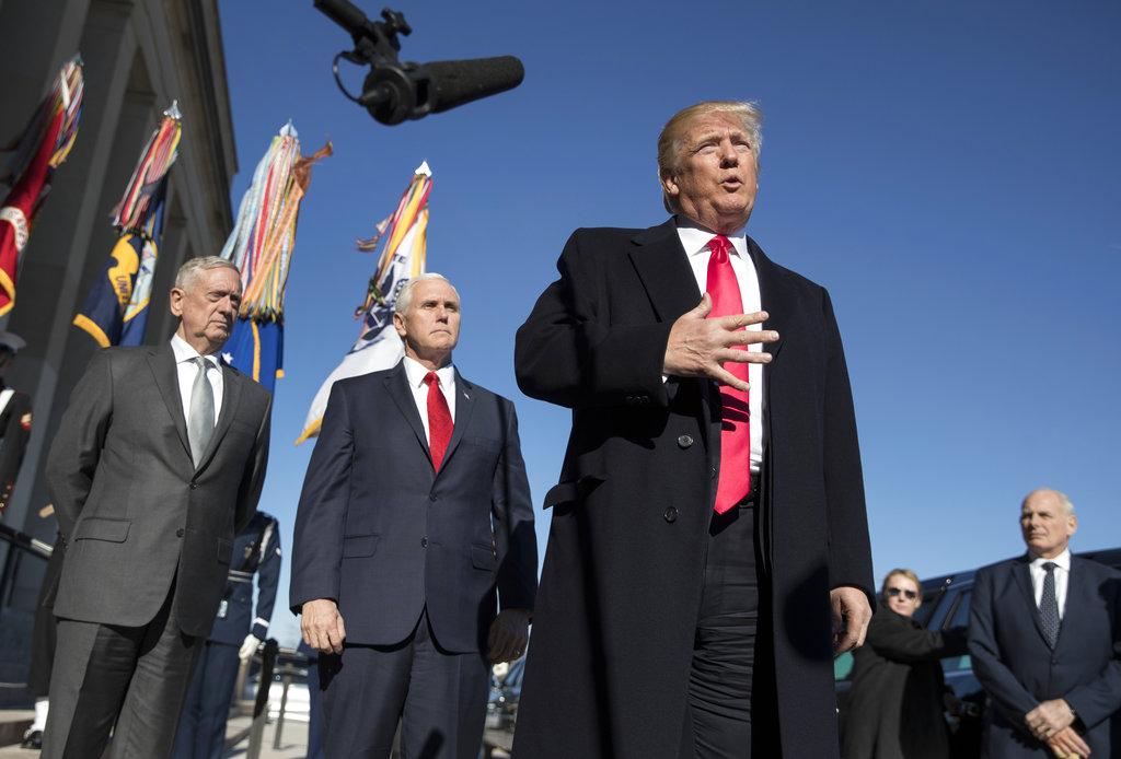 Trump: Military will take worst hit in government shutdown