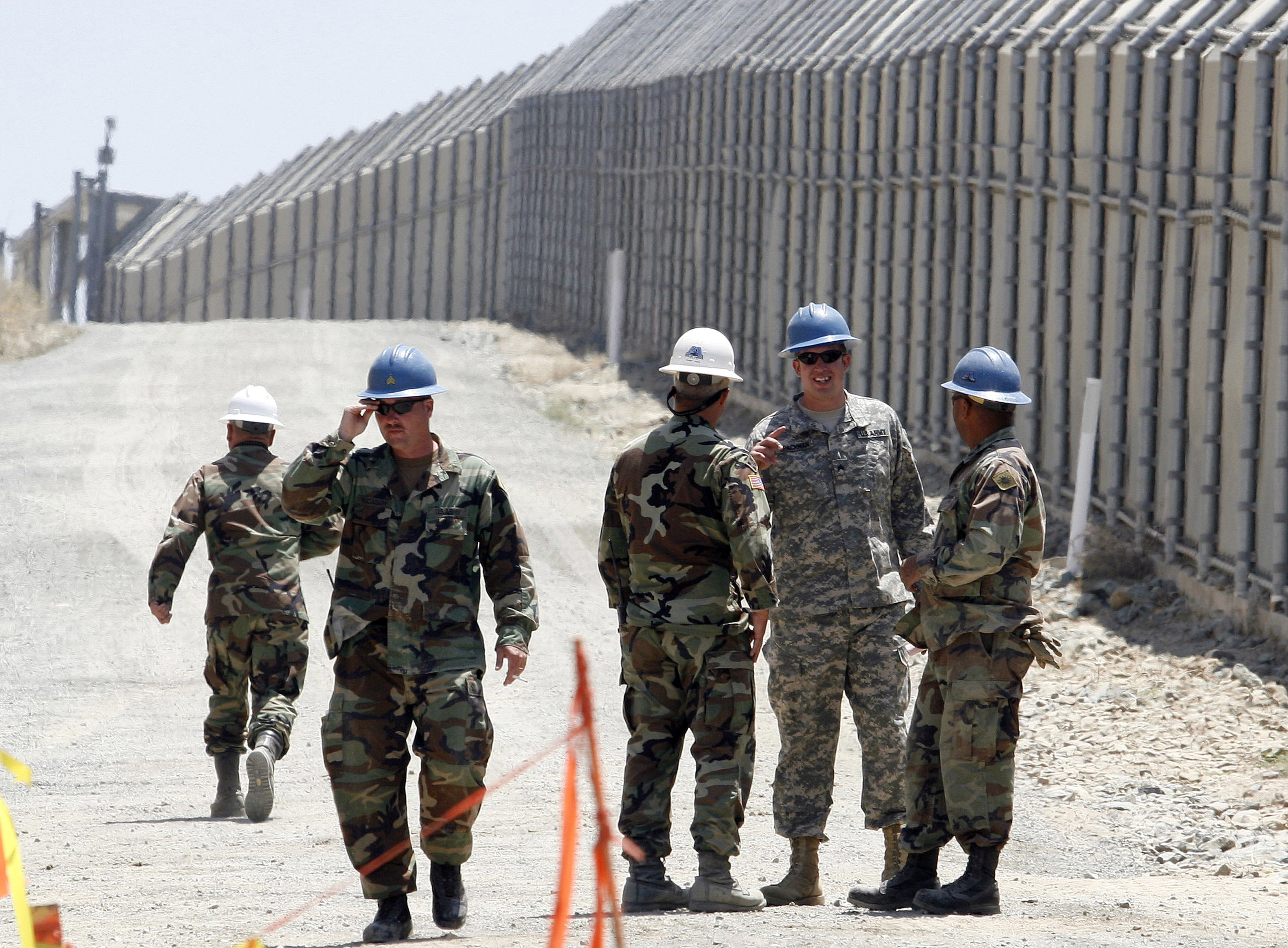 The House Armed Services chairman doesn't want to 'rob military' to fund border wall