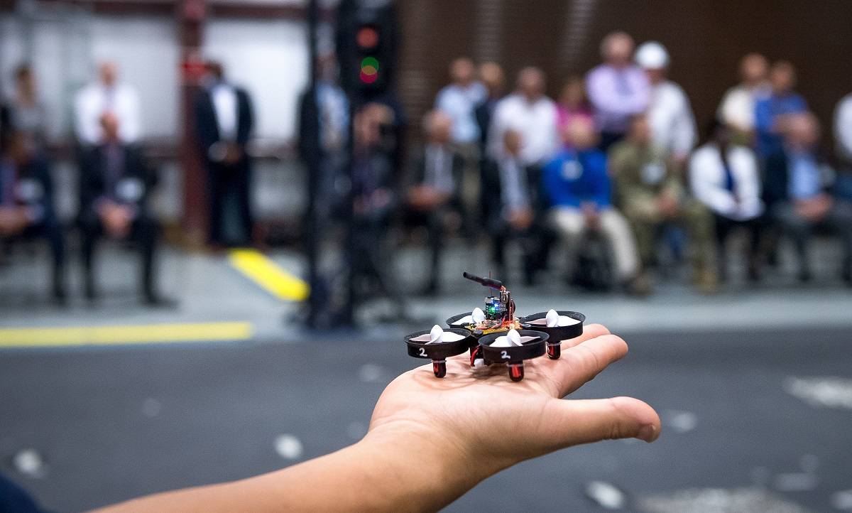 Drone swarm tactics get tryout for infantry to use in urban battlespace