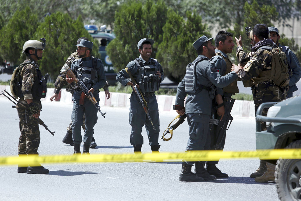 Militants wore US military uniforms in attack in Afghanistan's capital