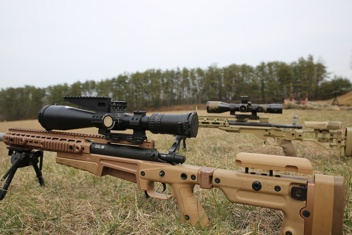This is the scope chosen for the newest Marine Corps sniper rifle