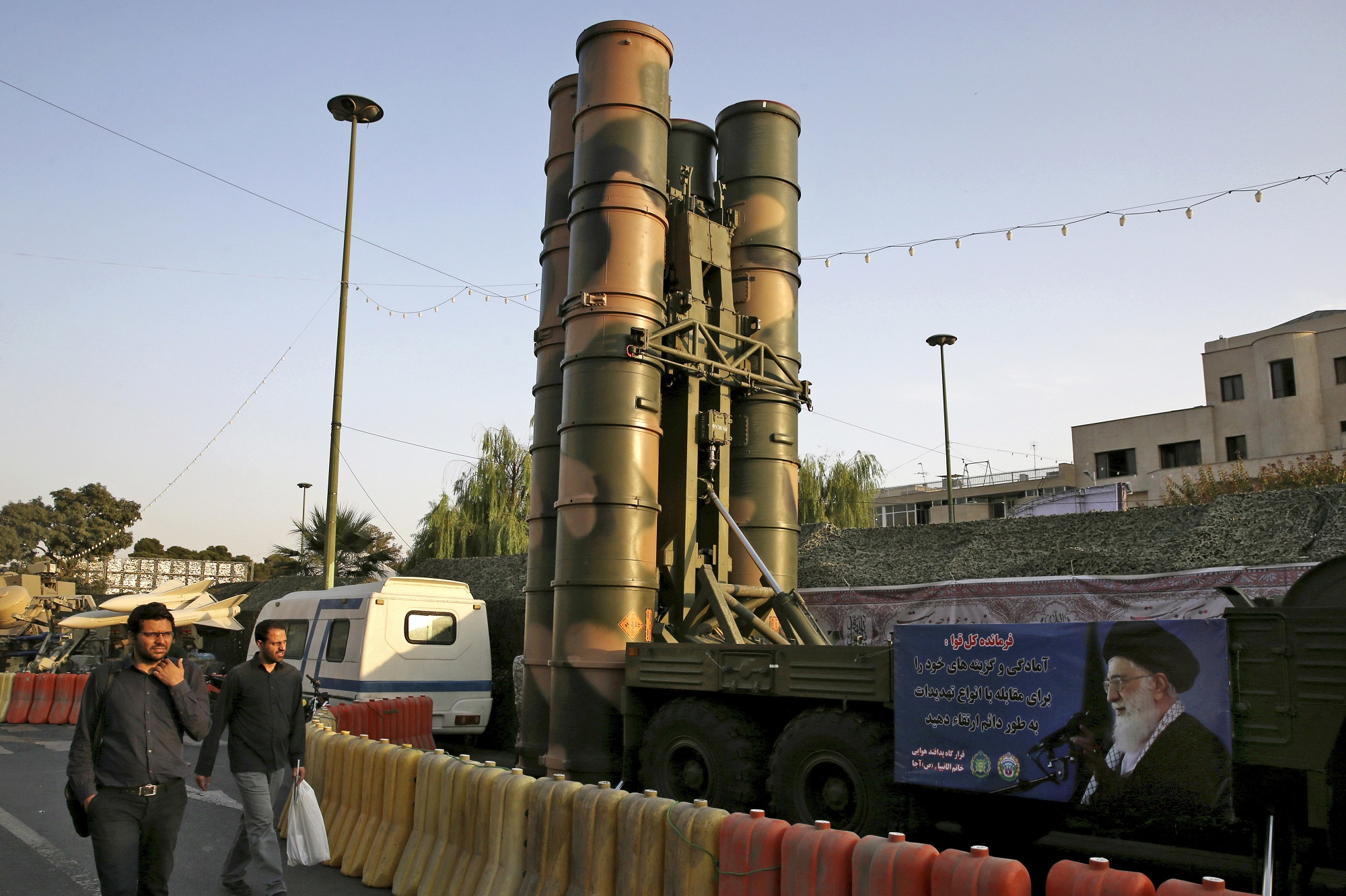 In first, Iran publicly displays S-300 air defense missile system