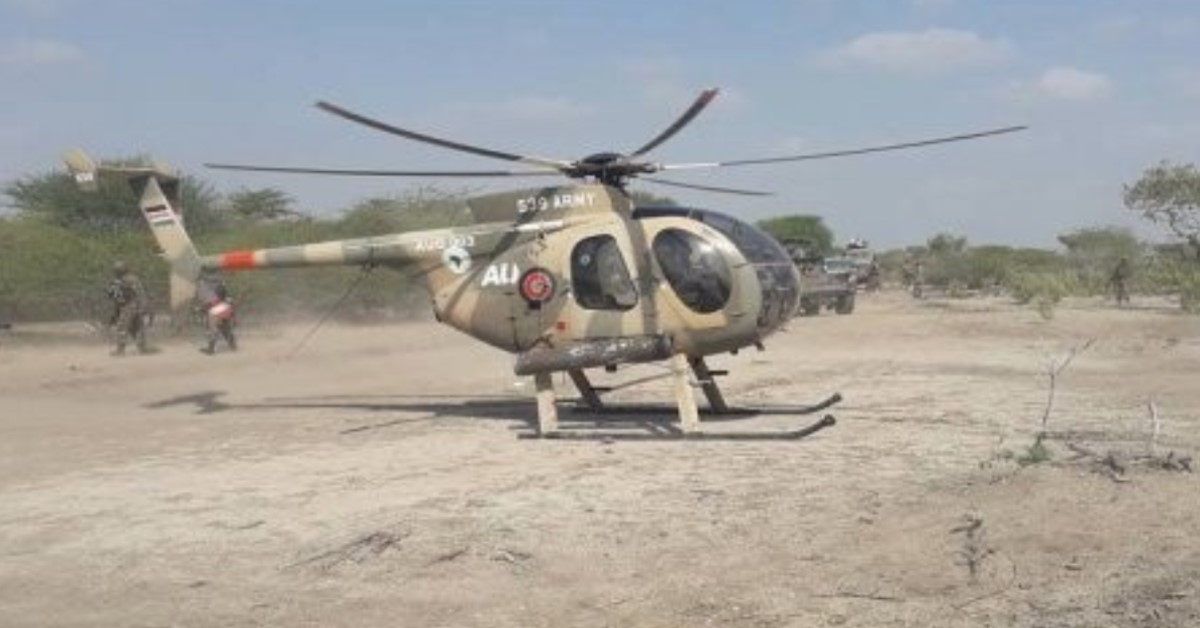 US troops support Somali forces on the ground, hit al-Shabaab terrorists from the sky