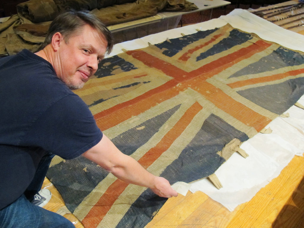Navy's captured flags, hidden nearly 100 years, rediscovered