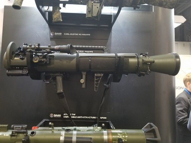 The new Carl Gustaf is lighter, smarter and more lethal