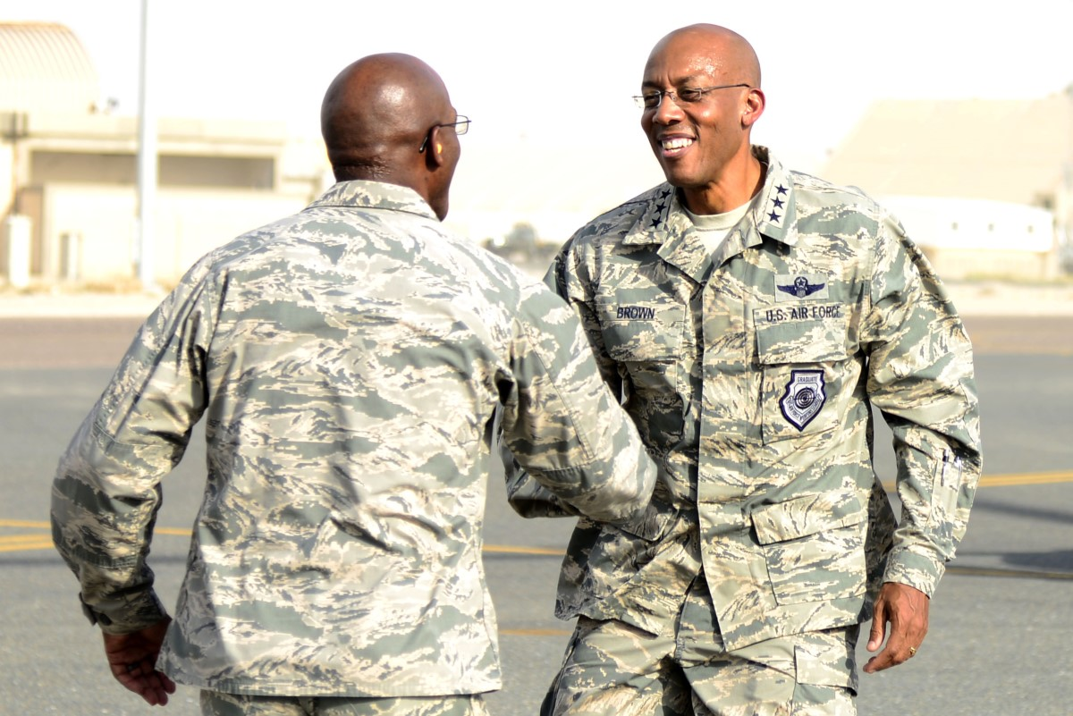 This decorated commander has just been nominated to head Pacific Air Forces