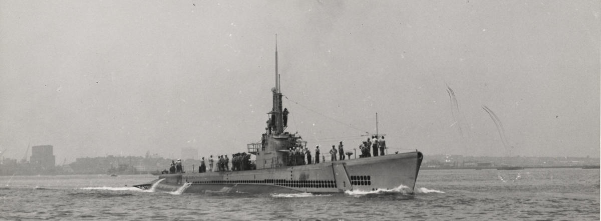 The submarine Ling (National Archives)