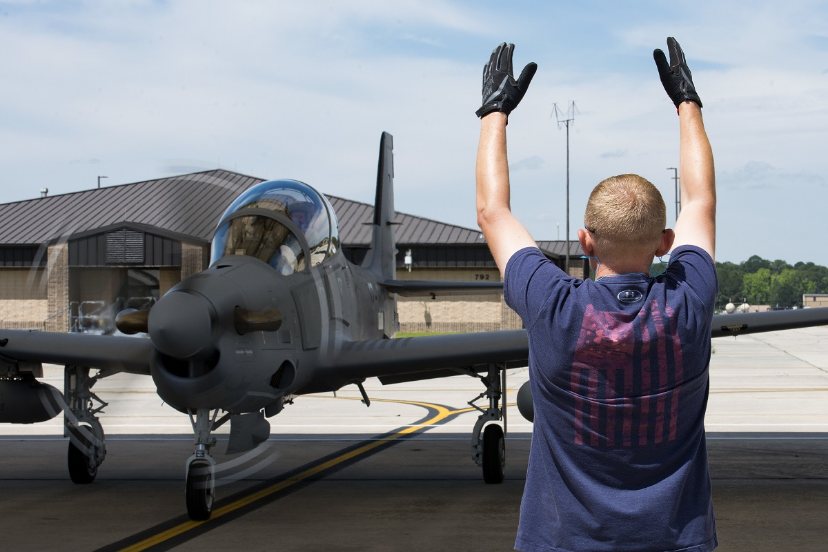Light attack experiment flights suspended as Air Force investigates pilot death