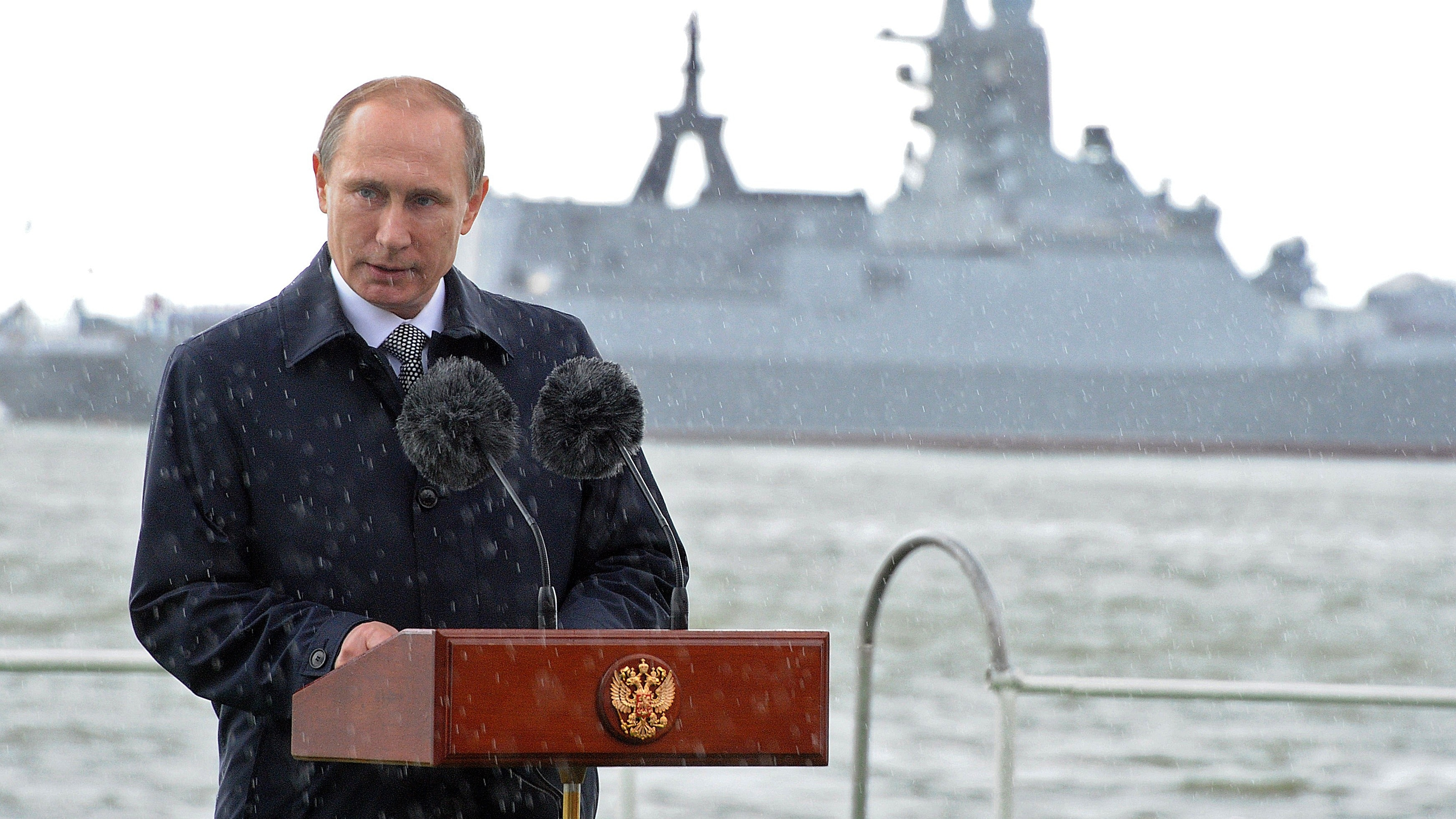 Russia's Putin drafts new rearmament program