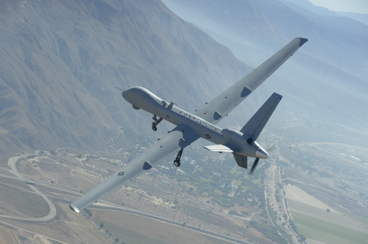 The U.S. Air Force will base MQ-9 Reaper drones in Greece for the foreseeable future. (Neil Ballecer/Air National Guard)