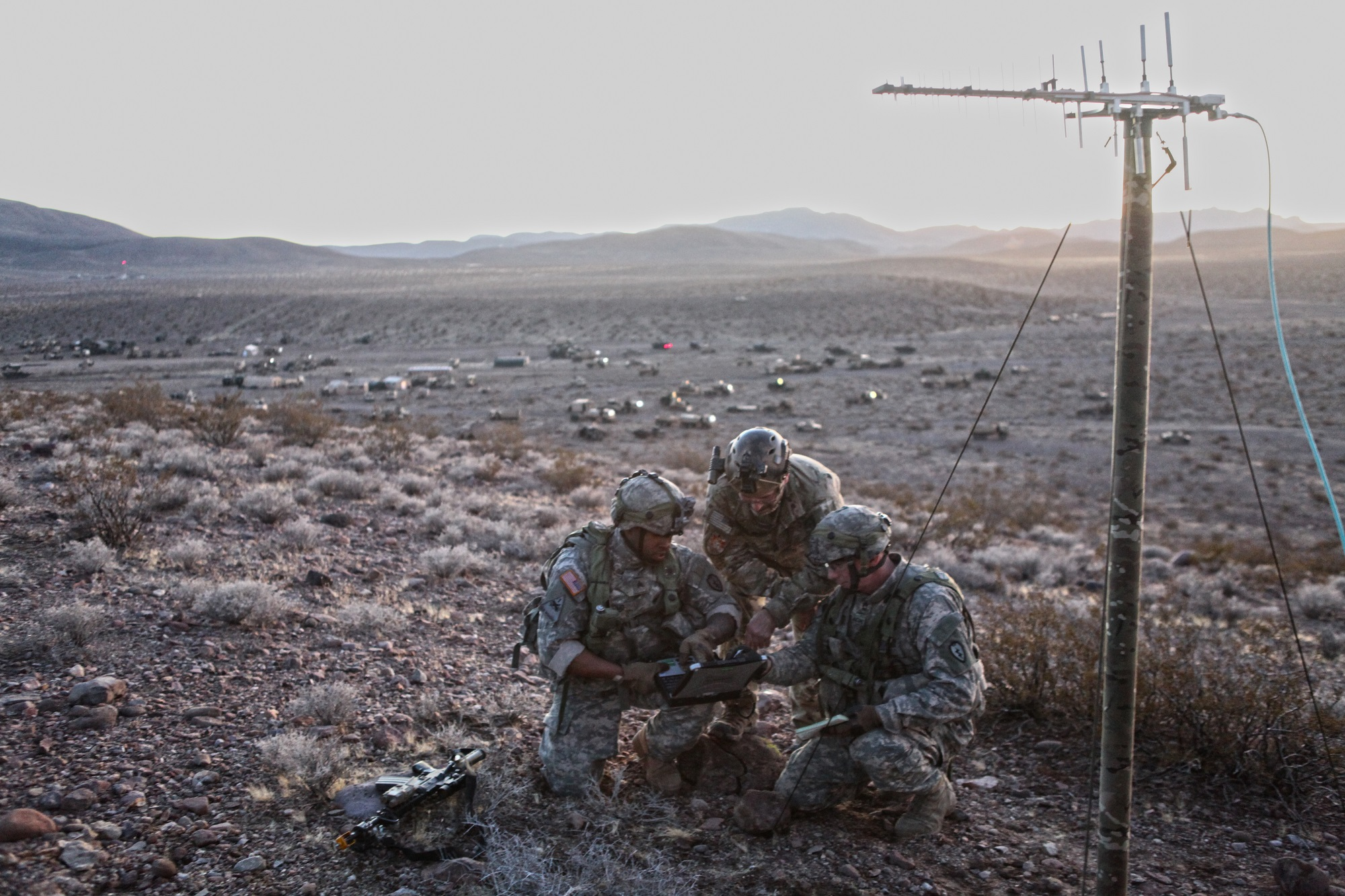 Cyber, EW, signals and space mean realigning the Army's force structure