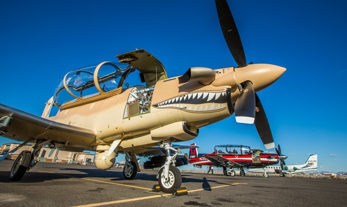 Industry eyeing opportunity to sell light attack planes, tech to SOCOM
