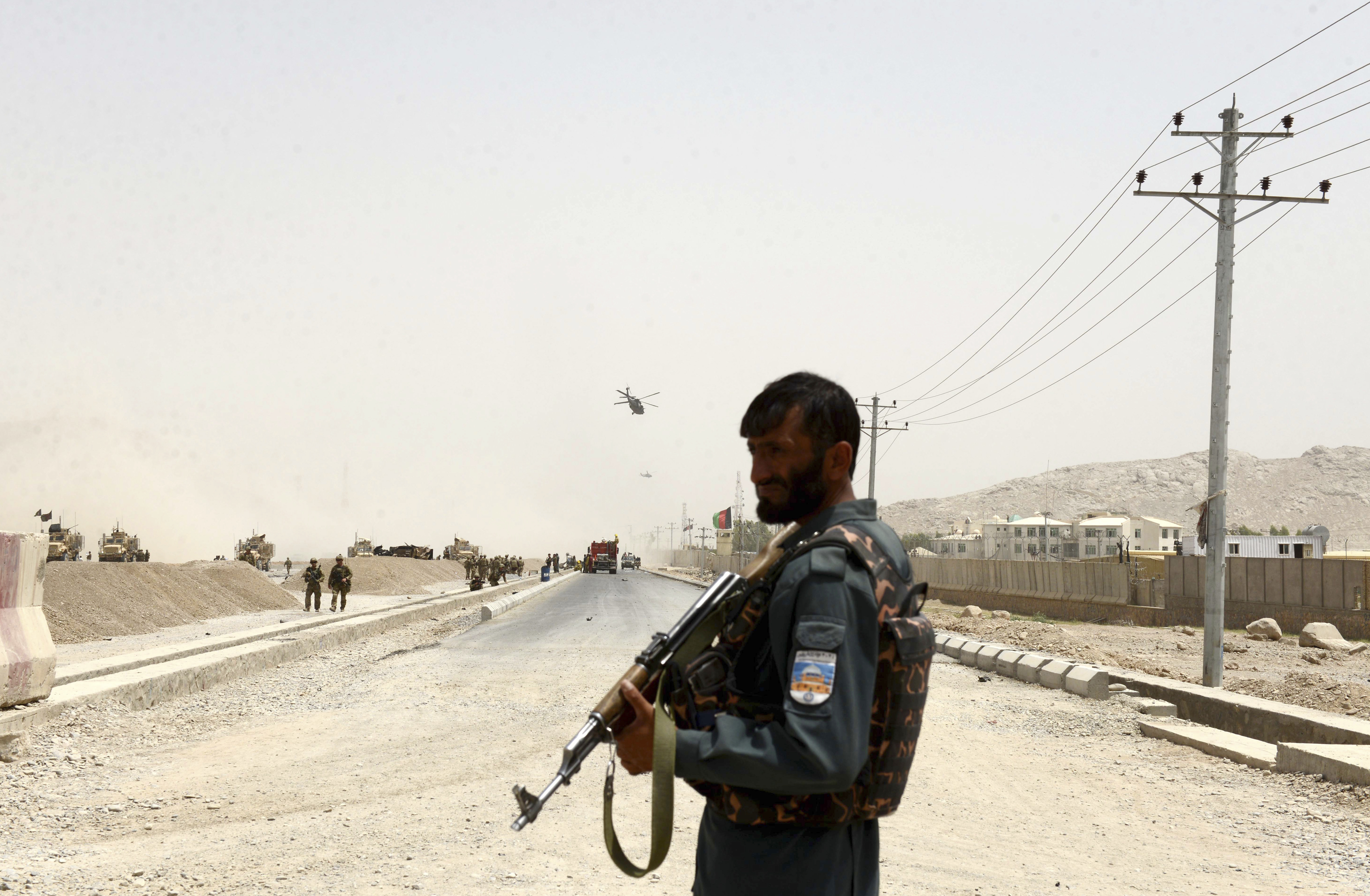 US: 4 wounded in Afghan attack that killed 2 US troops