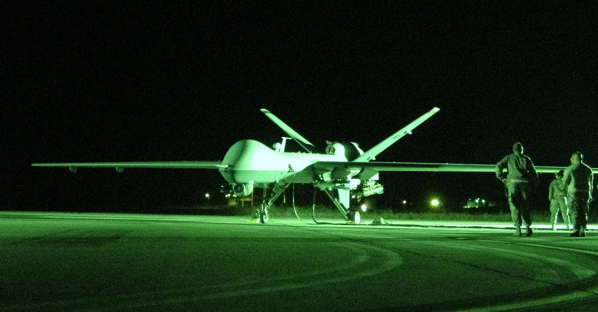 Air Force Reapers are now flying ISR missions from Poland