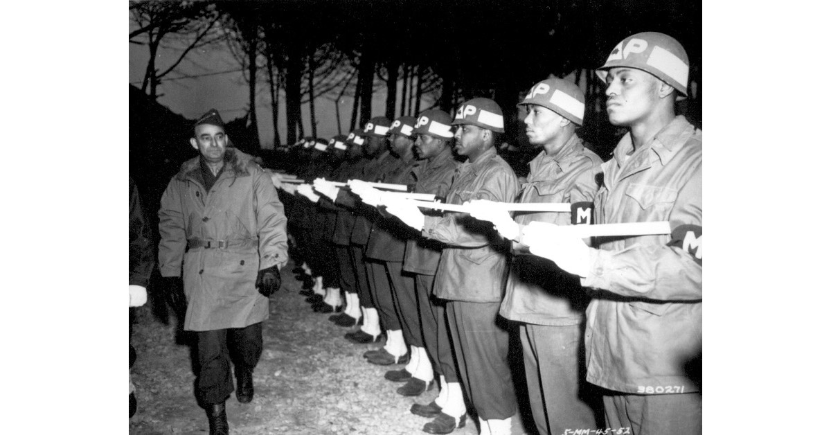 How the 'Buffalo Soldiers' helped turn the tide in Italy during World War II