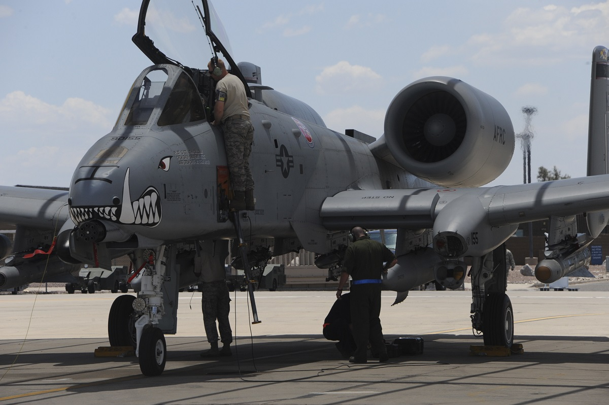 Air Force grounded dozens of A-10s in November after hypoxia incidents