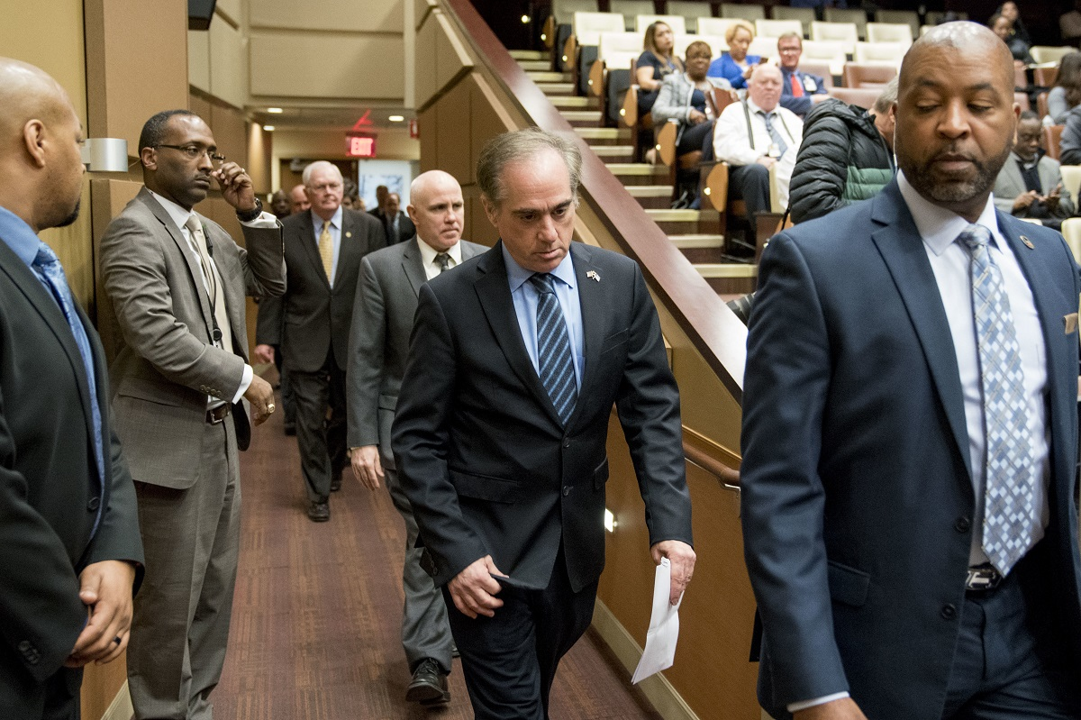 Outgoing VA Secretary Shulkin lashes out at White House officials looking to privatize veterans care